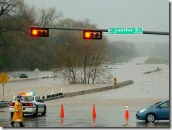 The bosses downtown have money to build toll roads, but to prevent Northwest Highway from flooding? Think again.